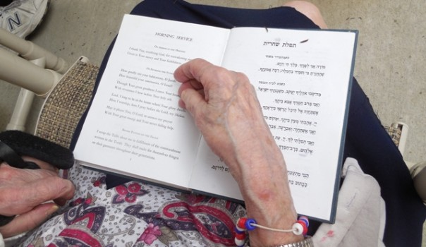 Photo`Shabbat Volunteers`prayer book-lower res