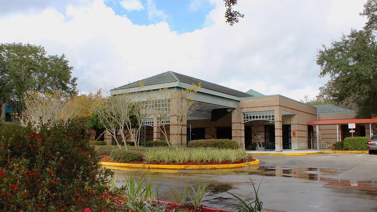 River Garden Senior Services Front Building